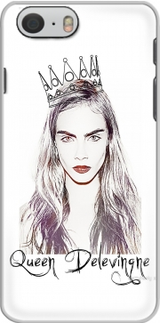 Cara Delevingne Queen Art für iphone-6