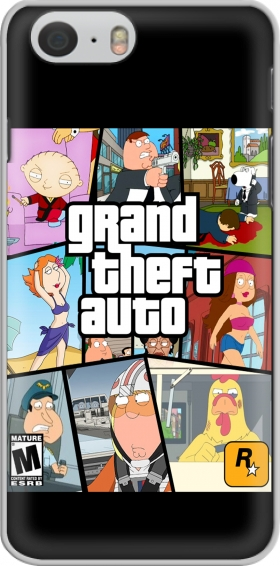 Hülle Family Guy mashup GTA für Iphone 6 4.7
