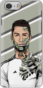 Football Legends: Cristiano Ronaldo - Real Madrid Robot Hülle für Iphone 6 4.7