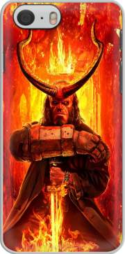 Hellboy in Fire für iphone-6