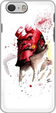 Hellboy Watercolor Art für iphone-6