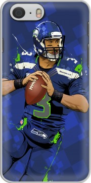 Seattle Seahawks: QB 3 - Russell Wilson Hülle für Iphone 6 4.7
