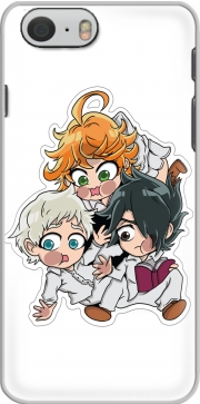 The Promised Neverland - Emma, Ray, Norman Chibi für iphone-6