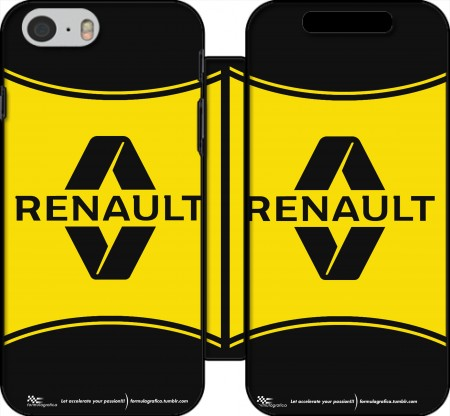 Klapptasche Wallet Renault Sports für Iphone 6 4.7