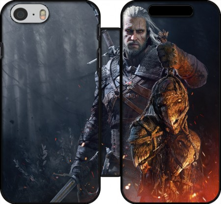 Klapptasche Wallet Witcher Fanart für Iphone 6 4.7